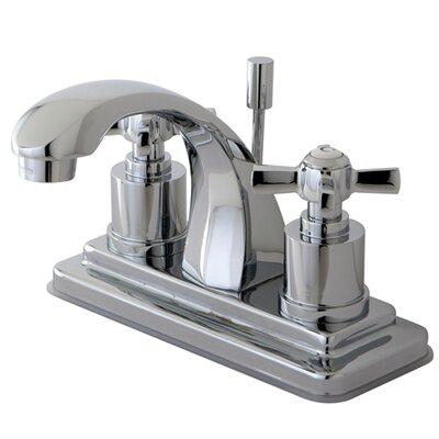 Millennium Double Handle Centerset Bathroom Faucet Finish: Polished Chrome