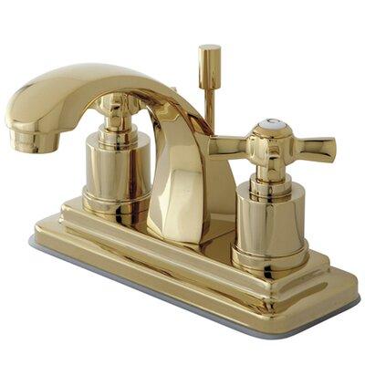 Millennium Double Handle Centerset Bathroom Faucet Finish: Polished Brass