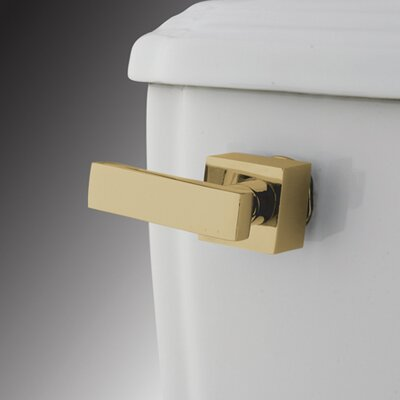 Executive Toilet Tank Lever Finish: Polished Brass