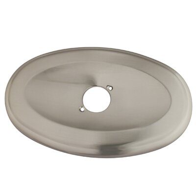 Oval Shower Face Plate Finish: Satin Nickel