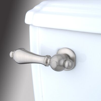 Restoration Toilet Tank Lever Finish: Satin Nickel