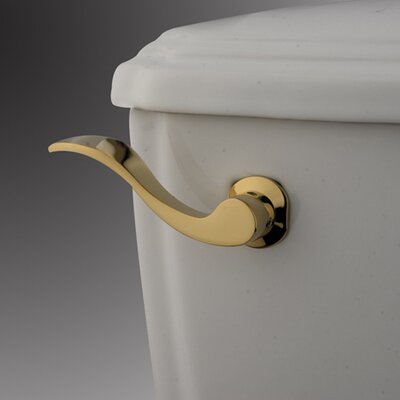 NuWave Toilet Tank Lever Finish: Polished Brass
