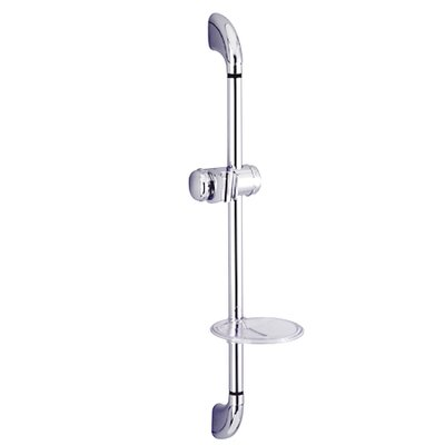 Showerscape 24 Shower Slide Bar with Soap Dish