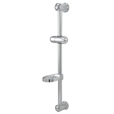 Vilbosch 24 Slide Bar with Acrylic Soap Dish and Hand Shower Holder