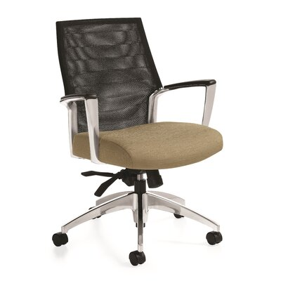 Global Accord Mesh Mid Back Chair with Arms Product Picture 4666