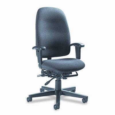 Image of Granada Desk Chair Upholstery: Graphite