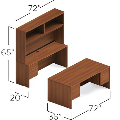 Executive Desk Hutch Adaptabilities Product Picture 1163