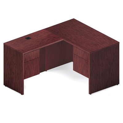 Stylish Flush Return Executive Desk Product Photo