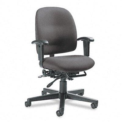 Image of Granada Multi Desk Chair Upholstery: Graphite
