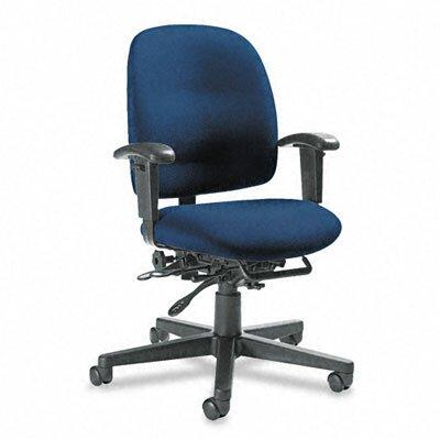 Image of Granada Multi Desk Chair Upholstery: Sapphire