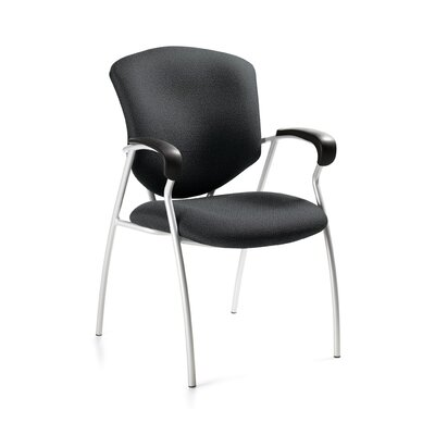Supra Guest Chair Fabric: Graphite
