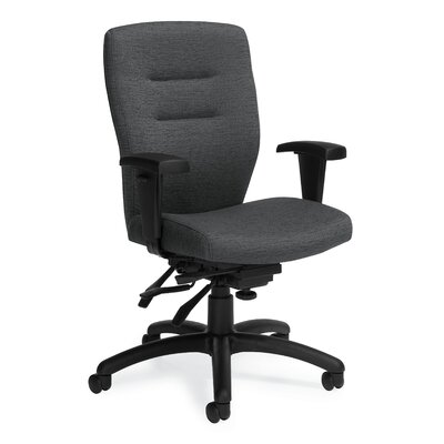 Synopsis Mid Back Multi Office Chair Height Adjustable Arms Granite Rock Product Photo