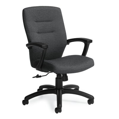 Synopsis Mid Back Office Chair Fixed Back Granite Rock Product Photo