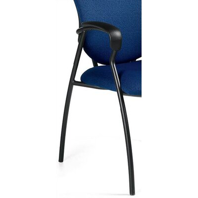 Supra Guest Chair Fabric: Cobalt