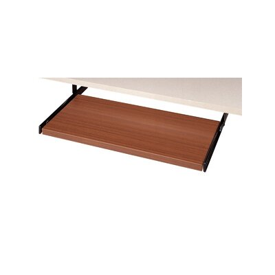 3.5 H x 20 W Desk Keyboard Tray Laminate: Avant Honey
