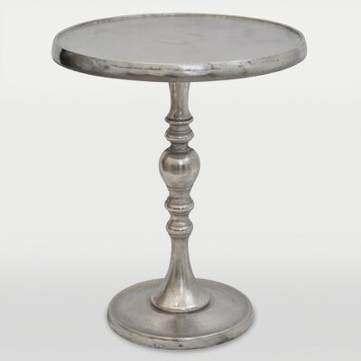 Romina End Table Color: Chrome