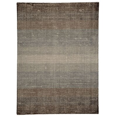 Surface Waves Brown Area Rug Rug Size: 5'2