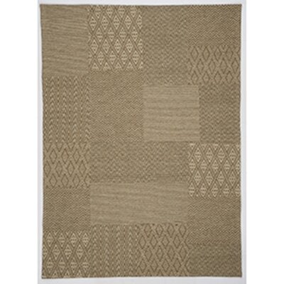 Kate Beige Area Rug Rug Size: 52 x 72