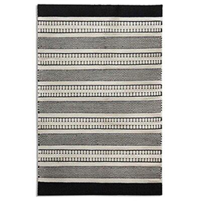Monochrome Beige Area Rug Rug Size: 52 x 72