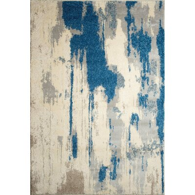 Alberto Off-White Area Rug Rug Size: 5'2