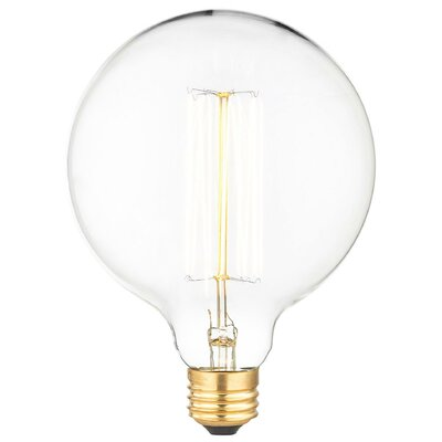 40W A E26 Incandescent Vintage Filament Light Bulb
