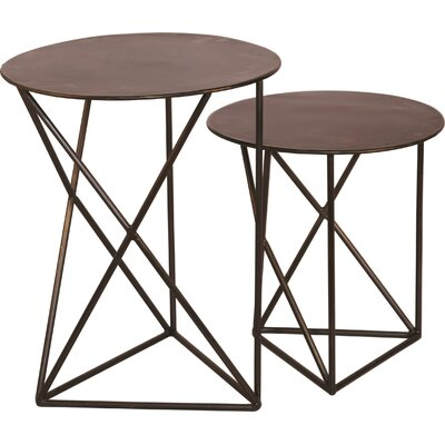 Andamio 2 Piece End Table Set