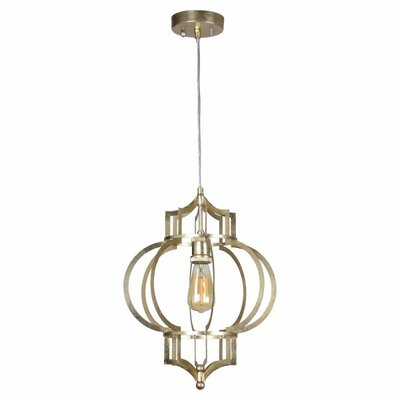 Peggy 1-Light Foyer Pendant