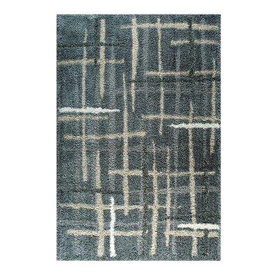 Carrara Ivory/Gray Area Rug Rug Size: 52 x 72