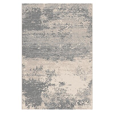 Ruggiero Beige/Gray Area Rug Rug Size: 52 x 72