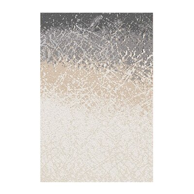 Alberto Beige/Ivory Area Rug Rug Size: 79 x 98