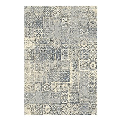 Cosmopolitain Ivory/Gray Area Rug Rug Size: 79 x 98