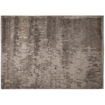 Summit Light Gray Area Rug Rug Size: 79 x 98