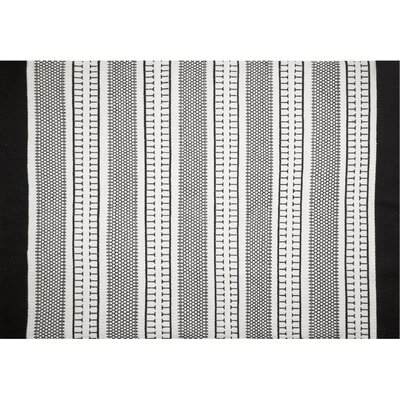 Monochrome Beige Area Rug Rug Size: 5'2