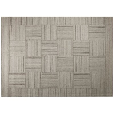 Patchwork Light Beige Area Rug Rug Size: 79 x 98