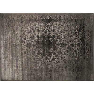 Azure Black/Beige Area Rug Rug Size: 52 x 72