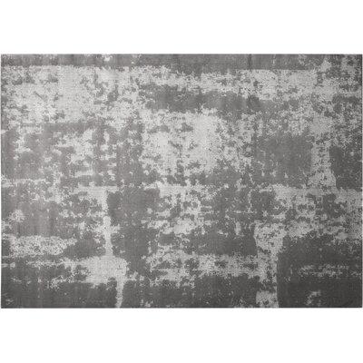 Azure Gray Area Rug Rug Size: 52 x 72