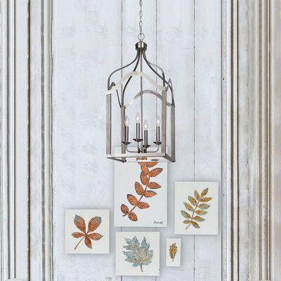 Victoria 4-Light Foyer Pendant