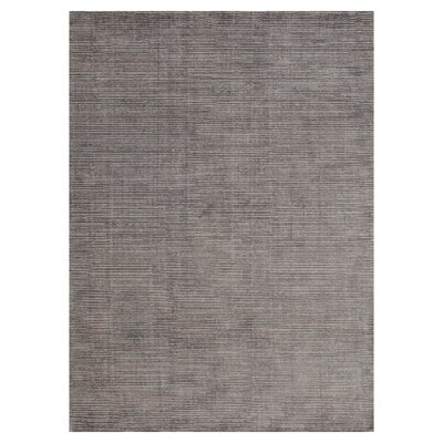 Gittan Hand Tufted Wool Gray Area Rug