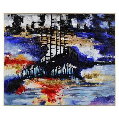 'Royce' Framed Print on Canvas