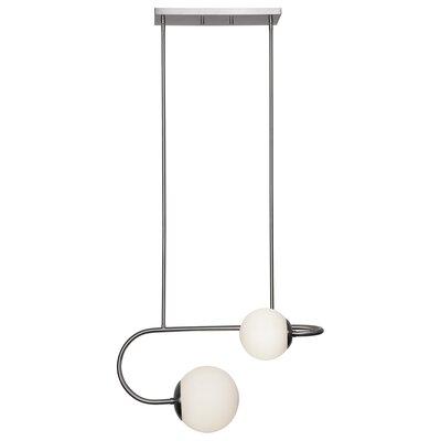 Damijan 2-Light Globe Pendant