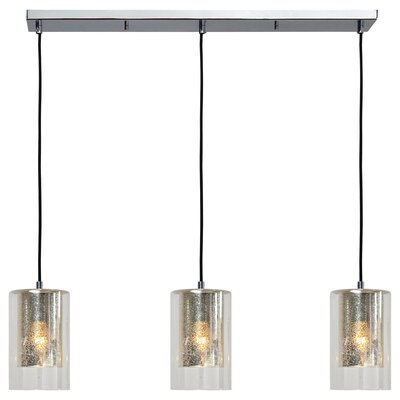 Vighnesh 3-Light Kitchen Island Pendant