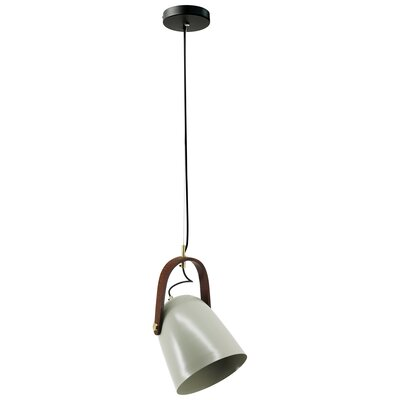 Vallejos 1-Light Bowl Pendant