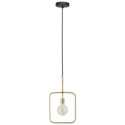 Valladares 1-Light Geometric Pendant