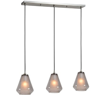 Ivona 3-Light Kitchen Island Pendant