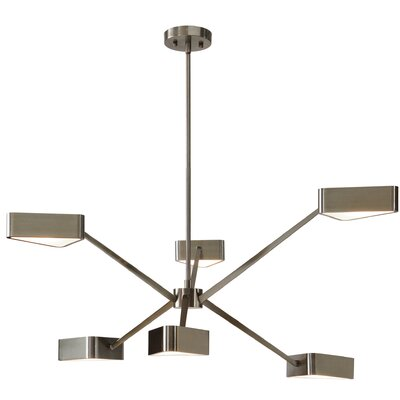 Rafelo 6-Light Geometric Pendant