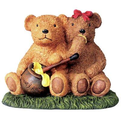 Honey Pot Bears Statue 4481