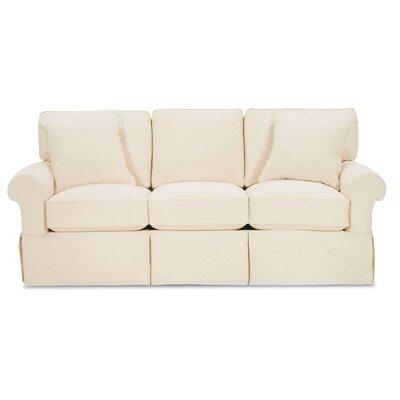 Nantucket Sofa Upholstery: Washed Cotton Ivory
