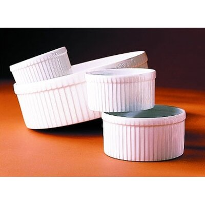 Classic 8.25 Extra Large Pleated Souffle Dish