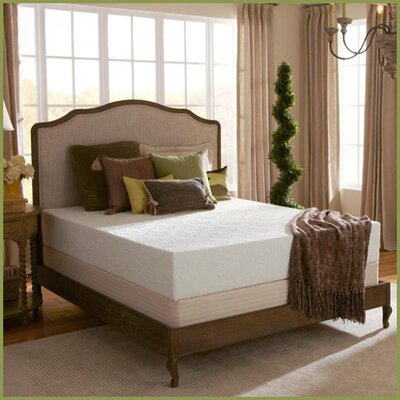 "Plush Beds Eco Bliss 10"" Latex Foam Medium-Firm Mattress - Size: Twin Extra Long at Sears.com"