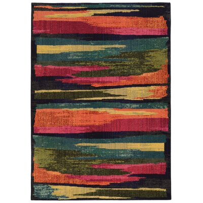 Expressions Abstract Area Rug Rug Size: Rectangle 67 x 91